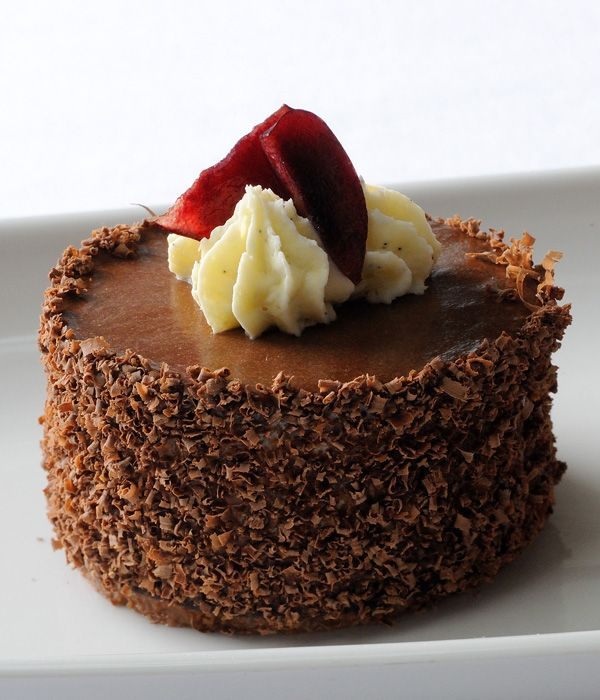 This enticing Black Forest gâteau recipe easily trumps the frozen version and gives the classic dessert a much needed makeover. - Stephen Crane