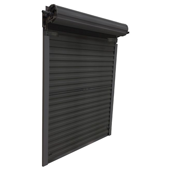 10x12 Wood Shed Roll Up Door Shed Roof Roll Up Doors Wood Shed Shed Doors