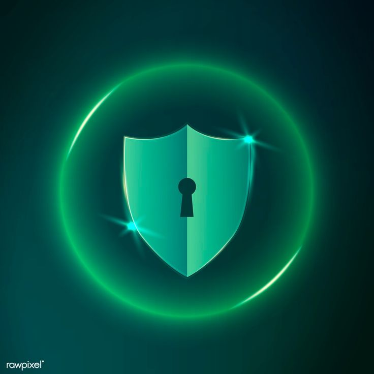 Download premium vector of Computer safety technology icon vector 1055210
