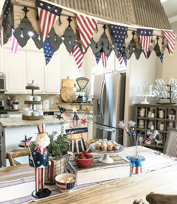941 Best Summer & Patriotic (4th Of July) Decorating