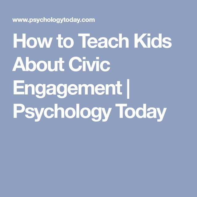 8 best j term experience images on pinterest students how to teach kids about civic engagement psychology today fandeluxe Images