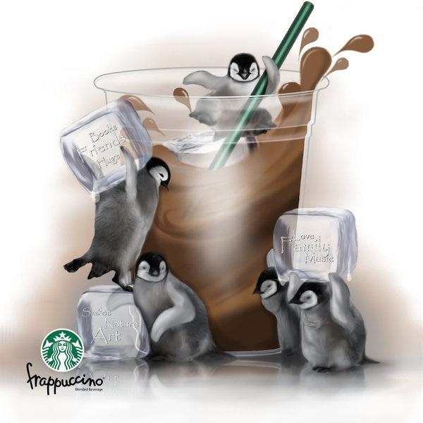 Starbucks iced coffee :)