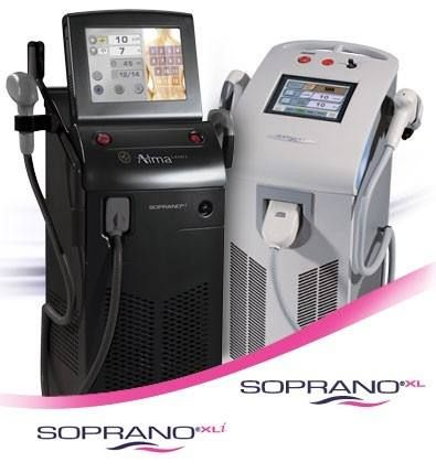 alquiler equipo depilación láser soprano xli 3g