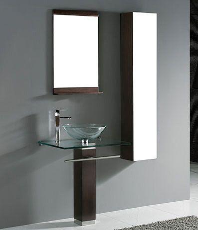 madeli rimini 29 bathroom vanity set in walnut