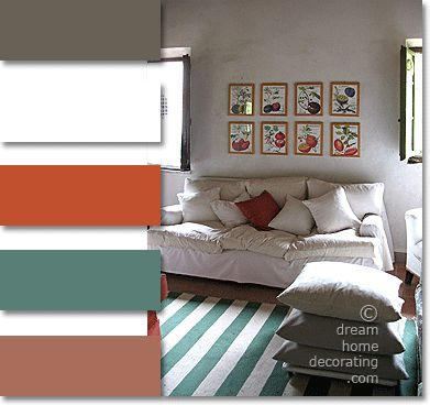 Tuscan Color Palette: Tuscan Colors In Real Tuscan Homes