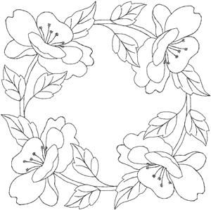 Quilters Flower 2 (HDFQ2B) Embroidery Design by Anita Goodesign