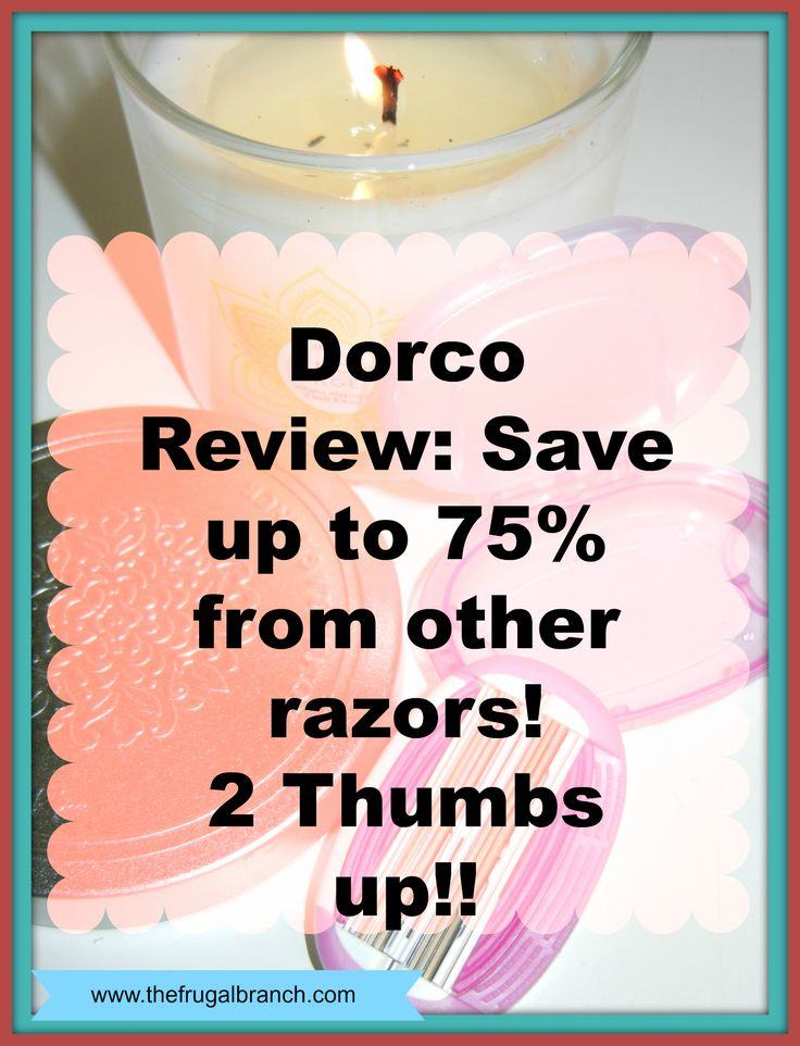 How would you like to save over $75.00 a year on razors? I save that much just for mine. That doesn't count hubbies. These are excellent razors and are comparable to the expensive drugstore options. I recommend them completely.