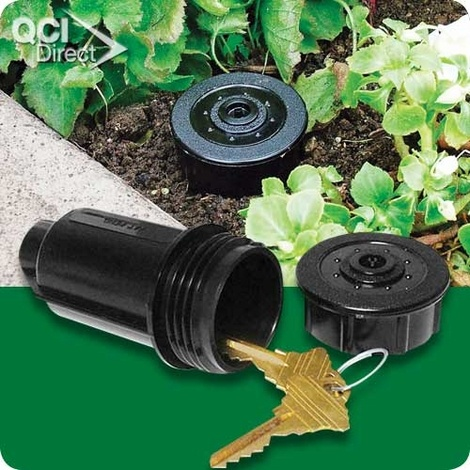 Sprinkler Key Hider... Dads house needs one of these