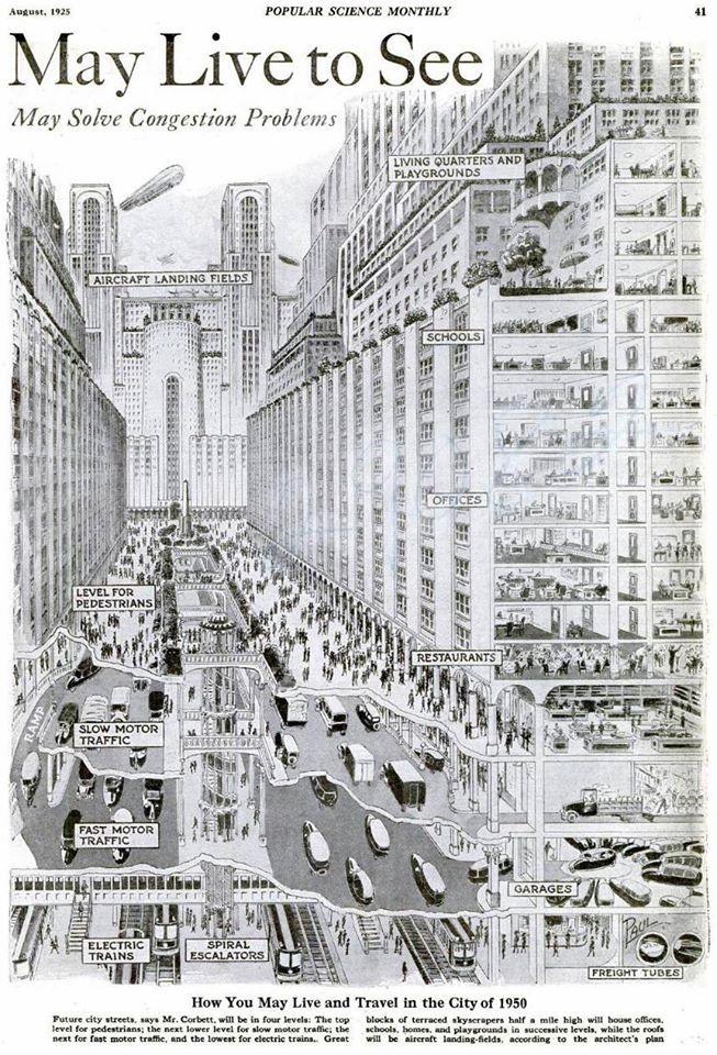 Miasto przyszłości z lamusa (1925)