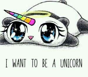 Panda as a unicorn! I would like to see that.
