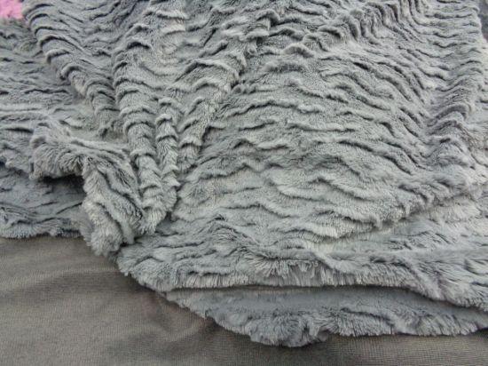 Λεπτή οικολογική γούνα με το μέτρο σε θαμπό μπλέ ράφ, για κομψά ρούχα-ΤΙΜΗ ΣΟΚ!