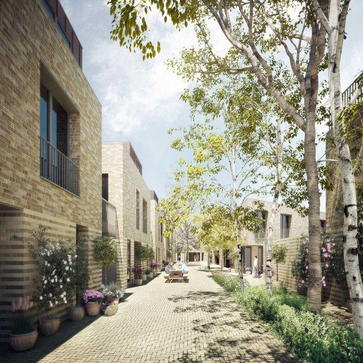 Forbes Massie / 3D Visualisation Studio / London - Work - Maccreanor Lavington / Chobham Manor