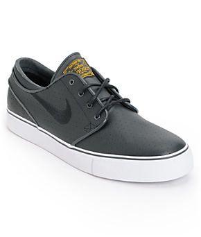Nike SB Zoom Stefan Janoski Perforated Black & White Skate Shoe at Zumiez :  PDP
