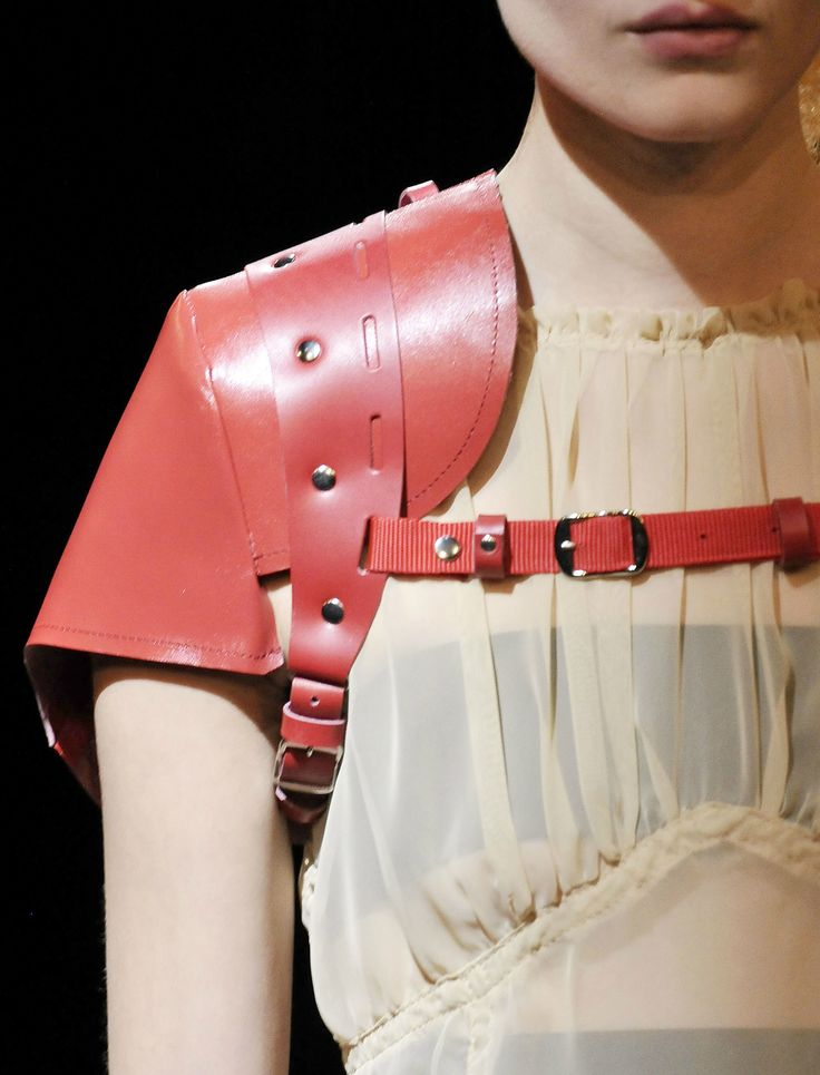 Comme des Garçons // all the shoulder strap pieces from this collection.