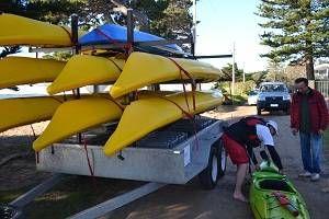 kayaking on phillip islan