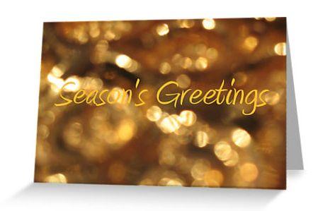 Season's Greetings Card - JUSTART on Redubble