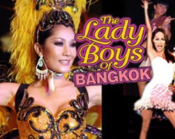 The Ladyboys of Bangkok - fantastic show!! ..I actually thought they were to die for ..!! :-D ( call me weird) but they unbelieveably amusing..!