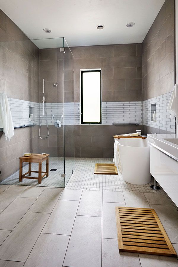 تصاميم حمامات بسيطة حمامات عصرية تصاميم حمامات مودرن حمامات صغيرة حمامات داخل غرف ال Small Bathroom Remodel Bathroom Tile Designs Contemporary Bathroom Designs