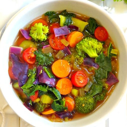Cleansing Detox Soup - The Glowing Fridge. Made Just Right. Plant Based. Earth Balance.