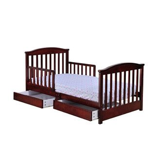 <strong>Dream On Me</strong> Mission Toddler Bed with Storage
