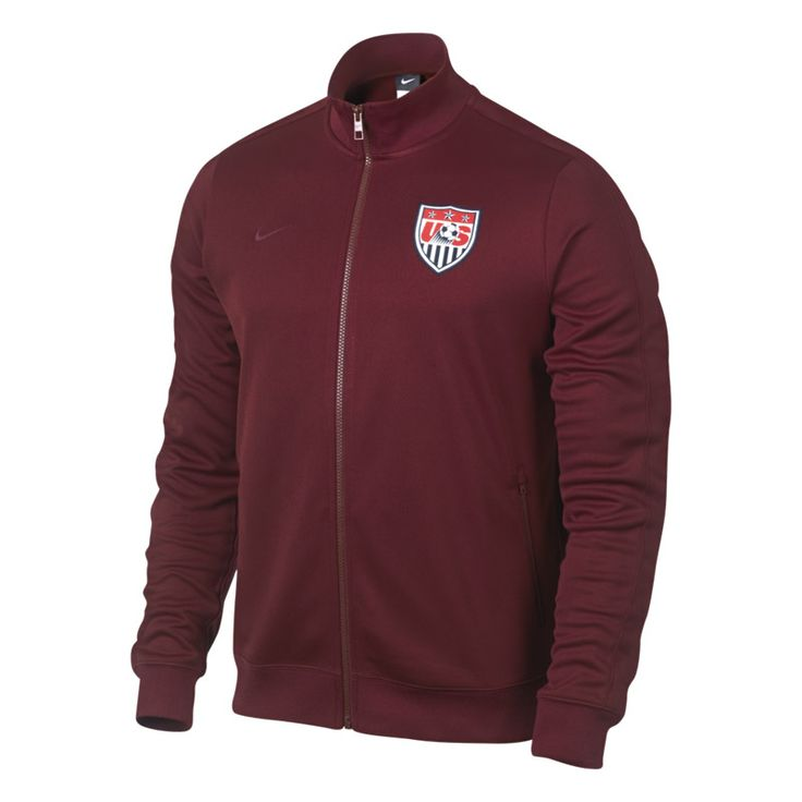 Nike USA Authentic N98 Jacket - Team Red MY LOVE OF THE MEN'S NATIONAL TEAM :)