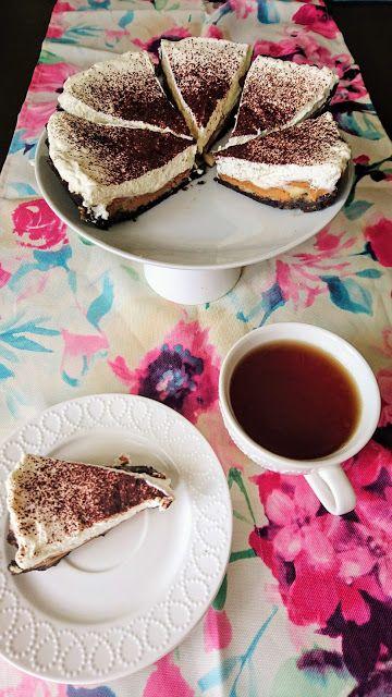 Kuchenne potyczki Alergiczki: Bananowo-orzechowe ciasto bez pieczenia