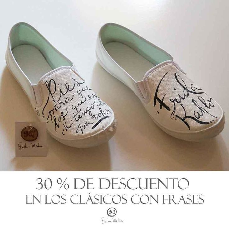 PIES PARA QUÉ LOS QUIERO SI TENGO ALAS PARA VOLAR Puedes presumir cualquier frase que imagines en tus Gustavo Medina con un descuento del 30%! #shoe #coupletogether #foot #two #footwear #fashion #fridakahlo #friducha #sandal #casual #wear #vivalavida #classic #elegant #color #moda #blogdemoda #slipper #family #traditional #fashionblog #ultralabapps #instahash #buenfin
