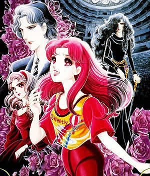 """Glass Mask (Garasu no Kamen)  created by Suzue Miuchi since 1976.  I really love it since I was a girl and it doesn't ended yet! What a wait!  It continued but I think it already lost its """"soul""""  However, once in my lifetime..I had wanted to meet Masumi Hayami in real life :*"""