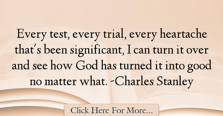Charles Stanley Quotes About God - 28263