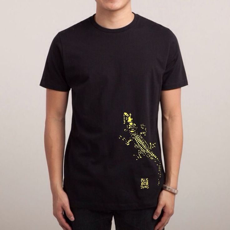 NEW 100% organic cotton tshirt Black Pre-order released date is April 28th 2017