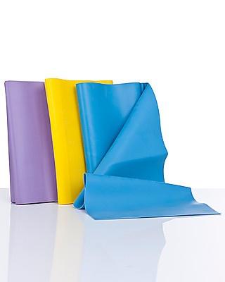 Tre bande elastiche per restare sempre in forma in qualsiasi momento della giornata in qualsiasi luogo. Tre diverse colorazioni per tre diversi livelli di resistenza che ti aiuteranno a ritrovare la tua forma fisica e la tua tonicità.