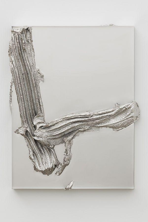 "Jason Martin ""painting as sculpture"""