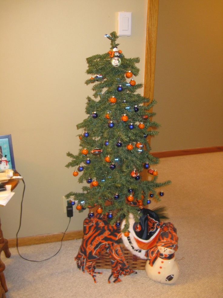 Chicago Bears Christmas Tree