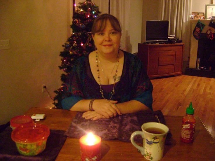 Eat With Me, Romantic Christmas Theme, Muk bang, Dinner 먹방