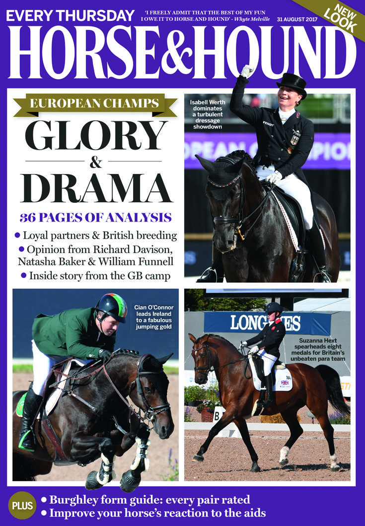 Don't miss our bumper issue from the European Championships in Gothenburg, on sale now!