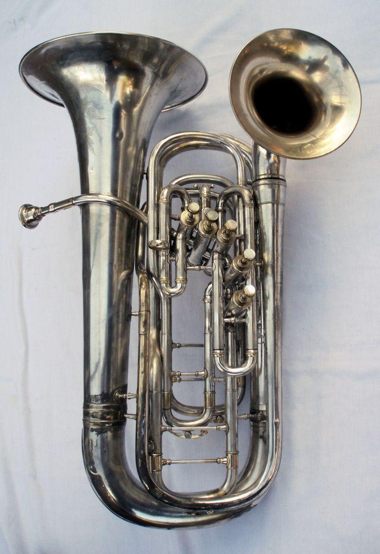 5 valve double bell euphonium
