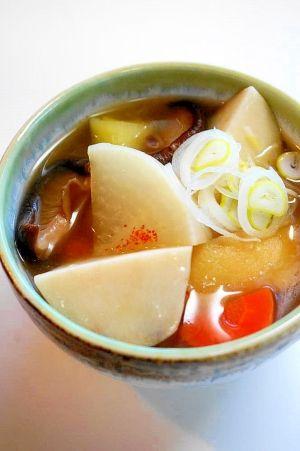 新潟の郷土料理! のっぺい汁