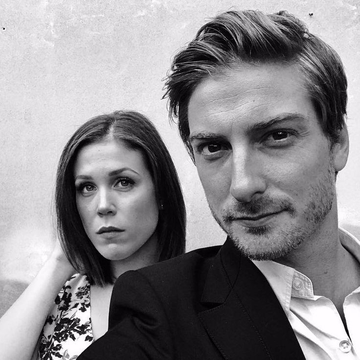 Daniel Lissing with onscreen love interest Erin Krakow