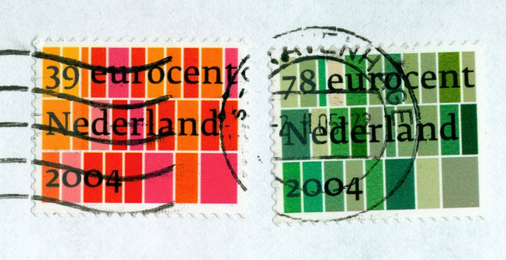 Dutch standard stamps, PB, 2003. Over 140 million stamps printed.