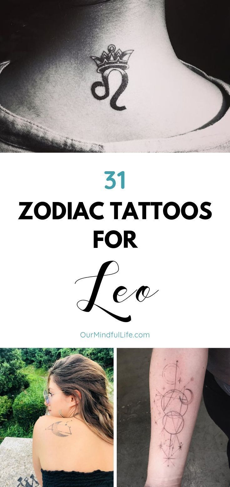47 Leo Tattoos To Showcase Your Pride Of Being A Lion Tatuajes