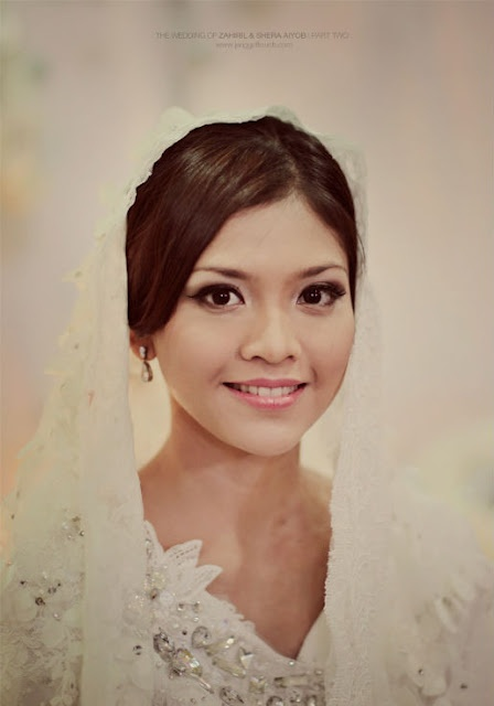 Shera's Solemnization Natural Make Up.