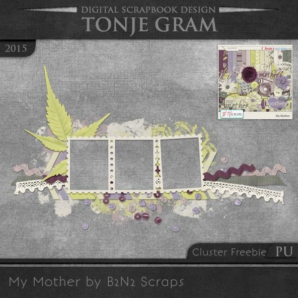 TonjeGram_MyMother_by_B2N2_Cluster_pu