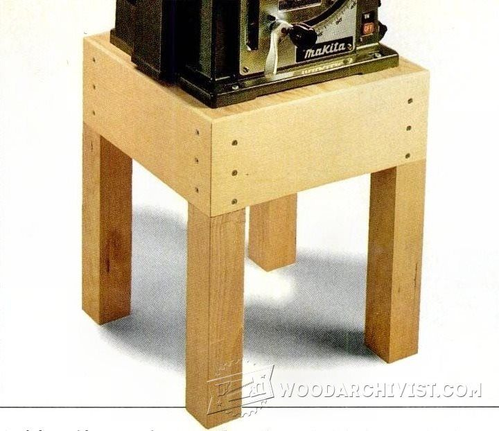 Tool Stand Plan - Workshop Solutions Plans, Tips and