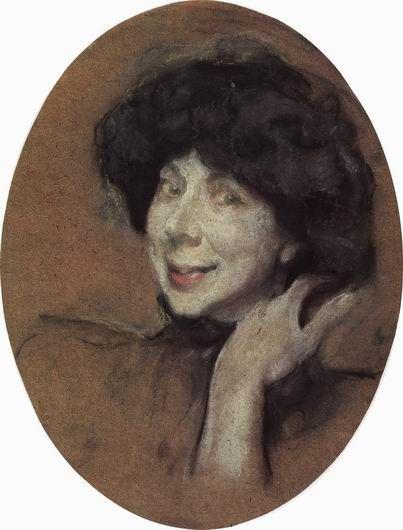 Валентин Серов. Портрет А.К.Бенуа, 1908