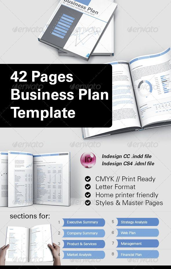 42 Business Plan Template For Indesign Business Planning