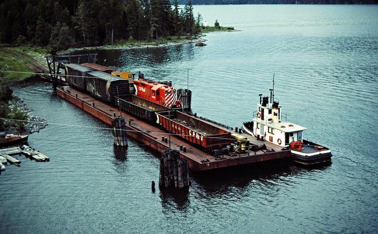 CP, Rosebery, British Columbia, 1983 | Canadian Pacific Rail… | Flickr