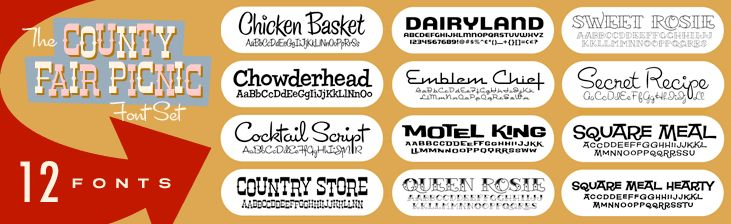 Font Diner Daily Specials | Fonts and Design Ideas ...