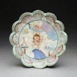 """Serving Plate""""Tsunami"""" by Shoko Teruyama"""