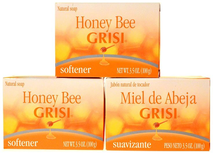 SOFT CLEAN MOISTURED SKIN W/ 3 PACK - GRISI HONEY BEE SOAP BAR - JABON DE MIEL >>> Read more  at the image link. (This is an Amazon Affiliate link and I receive a commission for the sales)