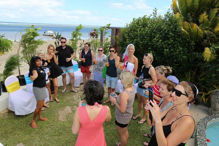 Spa Pamper Hens Party Fiji - Coral Coast
